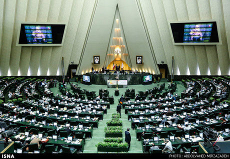 رفتار عجیب دونماینده در مجلس شورای اسلامی+عکس