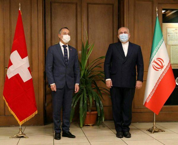 وزیر خارجه سوئیس با ظریف دیدار کرد