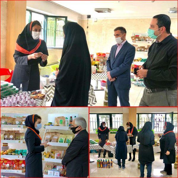 افتتاح فروشگاه مجازی تهیه اقلام ضروری ویژه کارکنان شهرداری منطقه۶
