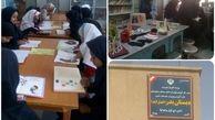 تجهیز کتابخانه هفت دبستان و دبیرستان شهرستان «نیمروز» توسط بانک صادرات ایران