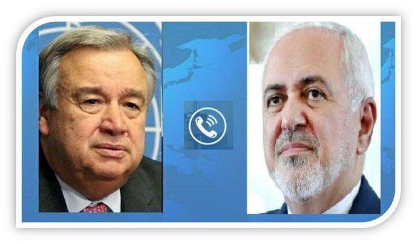 استقبال گوترش از تلاشهای ایران در جهت آتش بس در یمن