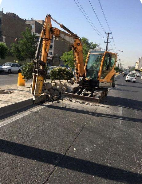 پرونده پروژه های توسعه محلی با بهسازی بلوار خلیج فارس در منطقه 18 بسته خواهد شد
