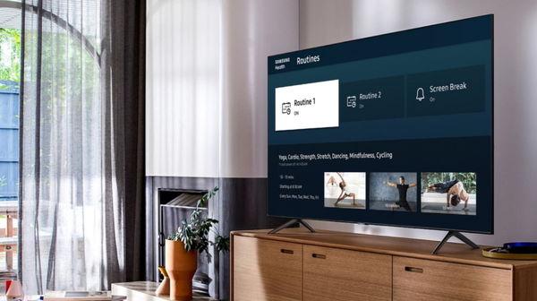 عرضه برنامه Samsung Health برای تلویزیونهای هوشمند ۲۰۲۰ سامسونگ