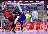 قضاوت داور بانوی ایرانی در جام جهانی فوتسال