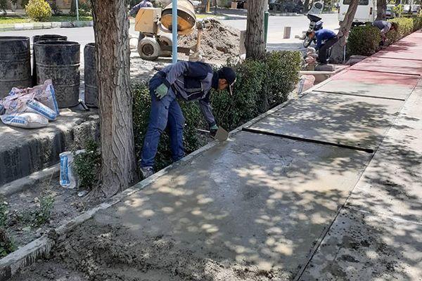 آغاز عملیات اجرایی یک پروژه کوچک مقیاس محلی در منطقه 17