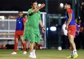 حضور سرمربی تیم امید در فدراسیون فوتبال تایلند