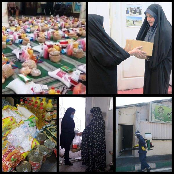 تهیه و توزیع 72هزار اقلام بهداشتی و خوراکی در منطقه9