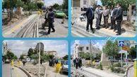 اصلاح هندسی 2 خیابان پرتردد در نواحی 2 و 5  منطقه15