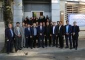 بازدید مدیرعامل بیمه سینا از شعبه قزوین