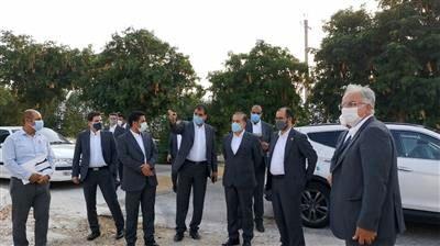 بازدید اعضای هیئت مدیره شرکت پازارگاد از پروژه های در حال ساخت شهرک پردیس