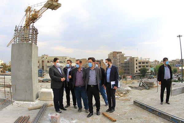 عملیات احداث ساختمان خانه شهر به نیمه راه رسید