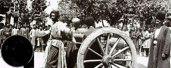 اعدام با توپ جنگی در زمان قاجار+عکس