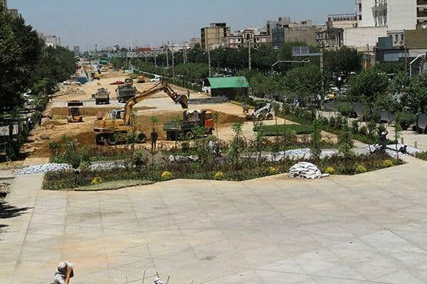 آخرین خبرها از پیشرفت عملیات احداث فاز یک باغ راه حضرت فاطمه زهرا(س)