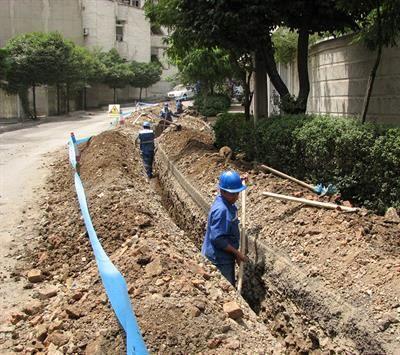 توسعه شبکه آبرسانی در جاده چیتگر فاز یک اندیشه شهریار