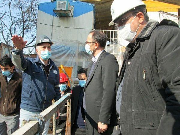 بازدید از پروژه زیر گذر گلوبندگ