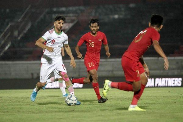 شکست تیم امید ایران مقابل اندونزی