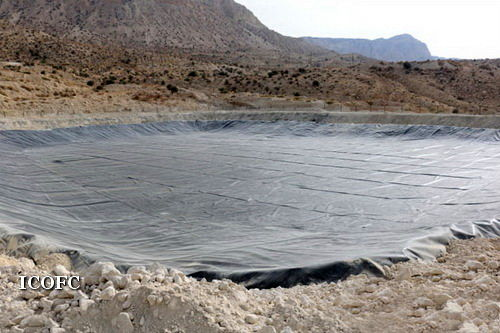 گودال تبخیر ۴۵ هزار متر مکعبی در منطقه عملیاتی نار و کنگان راه اندازی شد