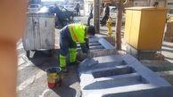 بهسازی 850 مخزن مکانیزه و زیرمخرنی در منطقه 13