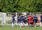 تمرین سبک شاگردان ویلموتس در مرکز ملی فوتبال