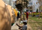 اجرای پویش سبزه ماندگار در منطقه2 پایتخت
