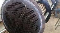 ساخت کامل کولر بخار استارت بویلر فاز 3 نیروگاه رامین اهواز