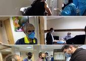 اجرای فاز دوم واکسیناسیون پاکبانان منطقه 15 علیه کرونا