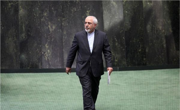 ظریف به صحن علنی مجلس میرود