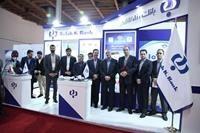 حضور بانک رفاه در نمایشگاه صنایع پدافند