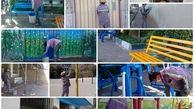 اجرای 12 هزار مترمربع رنگ آمیزی پوششی در مدارس جنوبشرق تهران