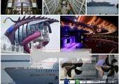 گرانقیمتترین اثر هنری جهان در کشتی تفریحی بنسلمان +عکس