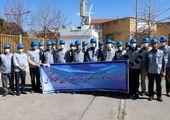 دیدار سرپرست مخابرات منطقه مرکزی با فرماندارشهرستان شازند