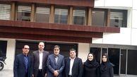 بازدید سرپرست بیمه ایران از شعب قراردادهای خاص و پایانه غرب