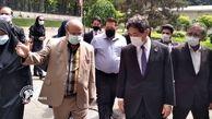 بازدید سفیر ژاپن از مرکز تجمیعی واکسیناسیون نیاوران