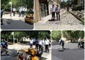 توزیع بیش از  5200 تن آسفالت برای بهسازی معابر جنوب شرق تهران