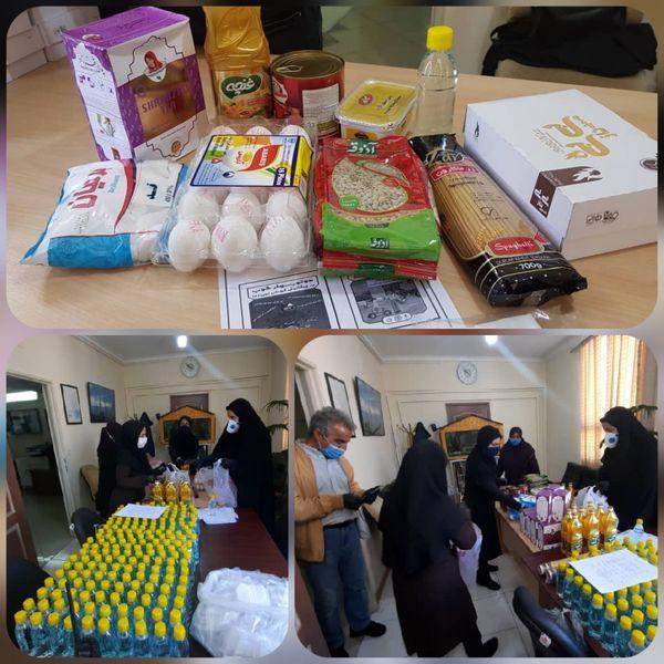 پویش کمک مومنانه به خانواده های دانش آموزان نیازمند منطقه۱۳